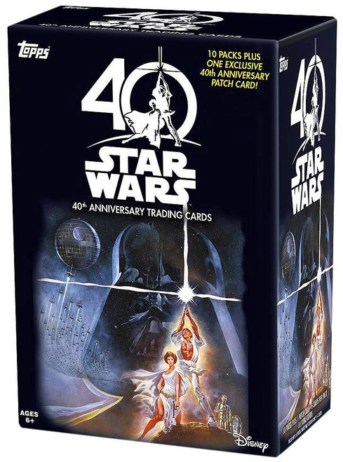Star Wars Topps 40th Anniversary Exclusive Trading Card BLASTER Box
