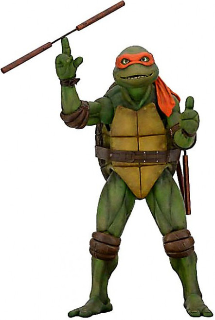NECA Teenage Mutant Ninja Turtles Quarter Scale Michelangelo Action Figure [1990 Movie]