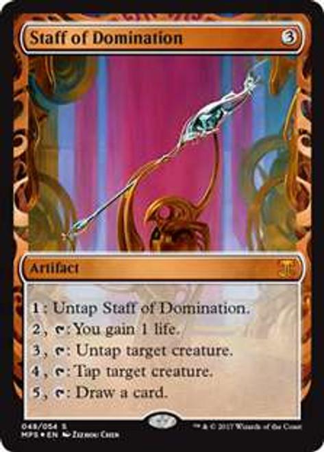 MtG Masterpiece Staff of Domination #48 [Kaladesh Invention]