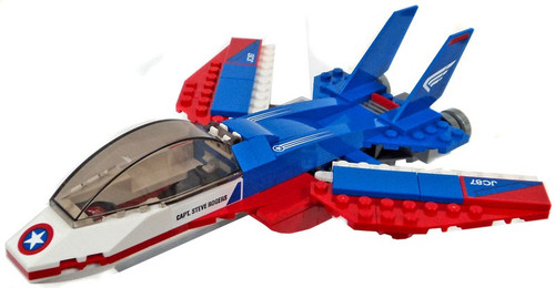 LEGO Marvel Super Heroes Captain America Jet Loose Item [Loose]