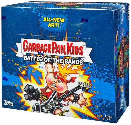 Garbage Pail Kids Topps Series 2 Battle of the Bands Trading Sticker Card HOBBY Box [24 Packs]