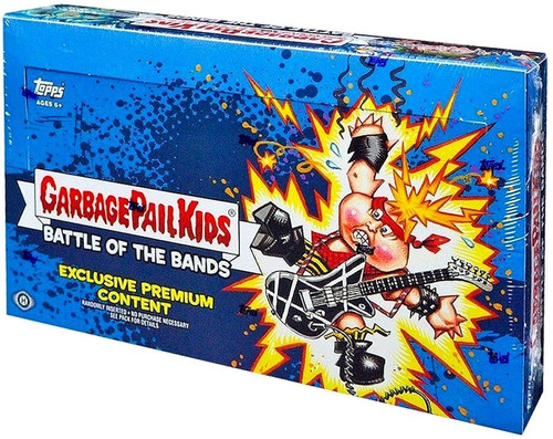 Garbage Pail Kids Topps Series 2 Battle of the Bands Trading Card Sticker COLLECTOR Edition HOBBY Box [24 Packs]