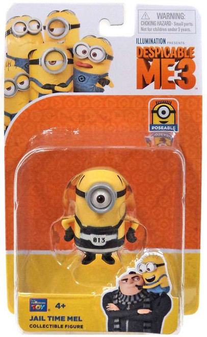 Despicable Me 3 Jail Time Mel Action Figure