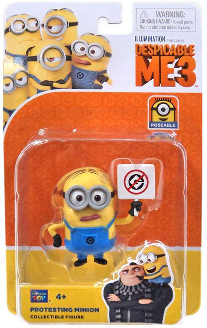 Despicable Me 3 Protesting Minion Action Figure