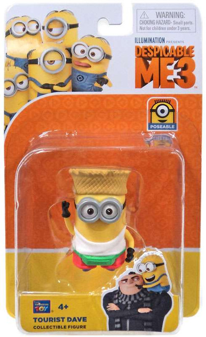 Despicable Me 3 Tourist Dave Action Figure