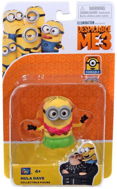 Despicable Me 3 Hula Dave Action Figure