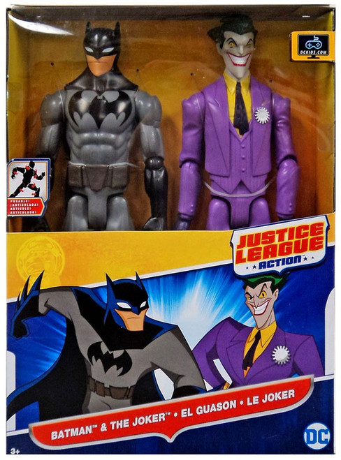 Justice League Action JLA Batman & The Joker Action Figure 2-Pack