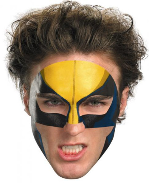 X-Men Costumes Wolverine Face Tattoo #11623