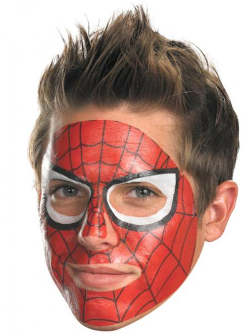 Costumes Spider-Man Face Tattoo #11621