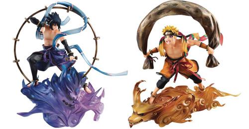 Gem Series Remix Naruto Fuujin & Raijin PVC Figure