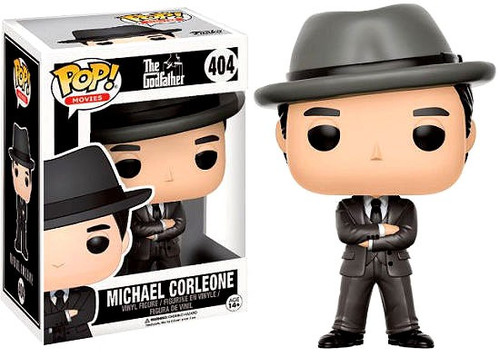Funko The Godfather POP! Movies Michael Corleone Exclusive Vinyl Figure #404 [with Hat]