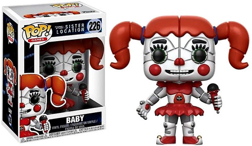 Funko Five Nights at Freddy's Sister Location POP! Games Baby Vinyl Figure #226