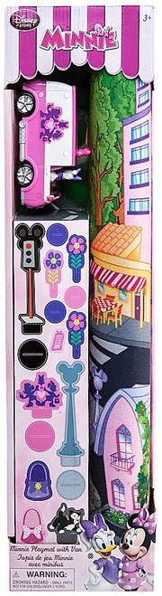 Disney Minnie Mouse Minnie Playmat with Van Exclusive Playset