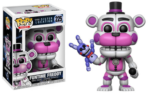 Funko Five Nights at Freddy's Sister Location POP! Games Funtime Freddy Vinyl Figure #225 [Regular Version]
