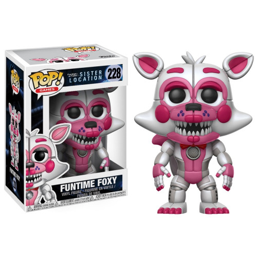 Funko Five Nights at Freddy's Sister Location POP! Games Funtime Foxy Vinyl Figure #228