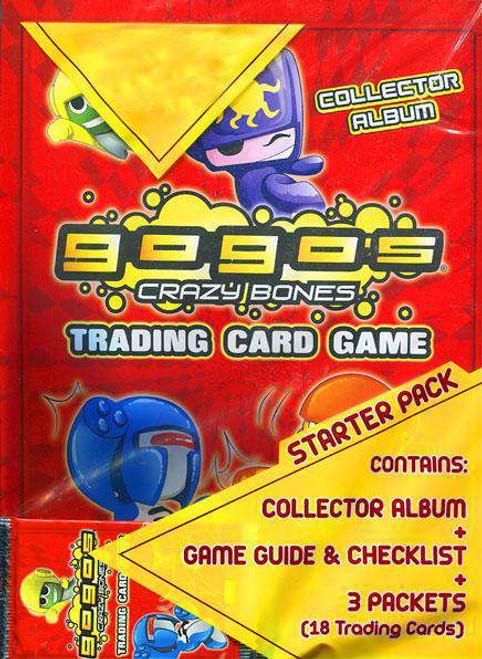 Crazy Bones Gogo's Series 1 Power Starter Pack [Damaged Package]
