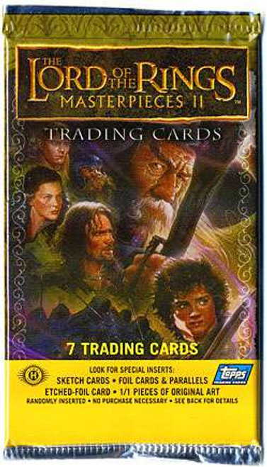Lord of the Rings Topps Masterpieces II Trading Card