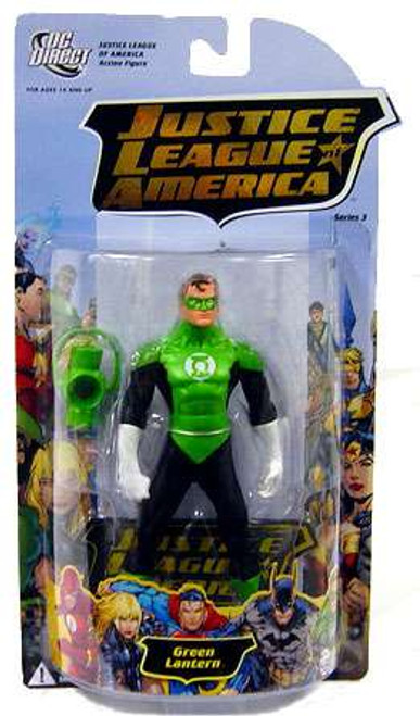 DC Justice League of America Series 3 Green Lantern Action Figure