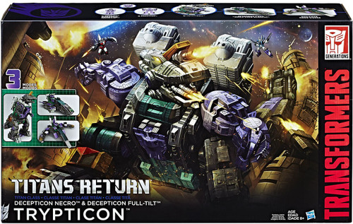 Transformers Generations Titan Class Trypticon Action Figure