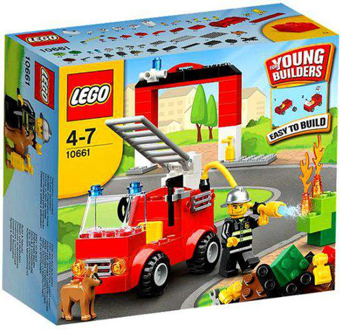 LEGO Young Builders Fire Station Set #10661 [Damaged Package]