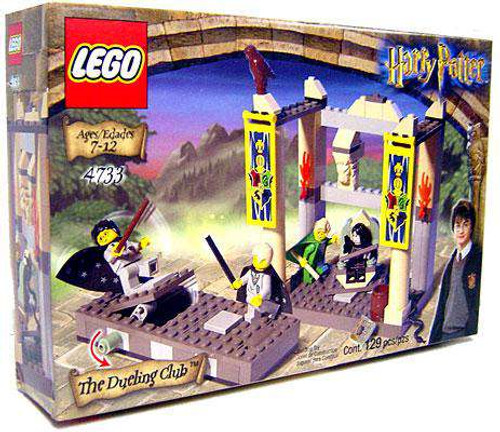 LEGO Harry Potter Series 1 Chamber of Secrets Dueling Club Set #4733 [Damaged Package]