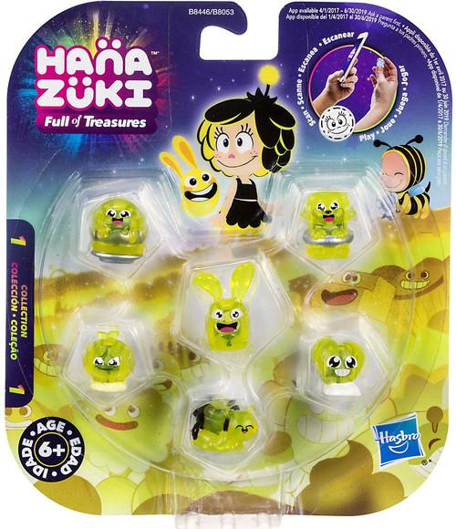 Hanazuki Full of Treasures Series 1 Yellow / Happy 6-Pack
