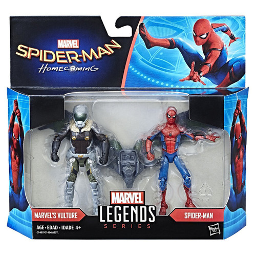 Spider-Man: Homecoming Marvel Legends Vulture & Spider-Man Action Figure 2-Pack