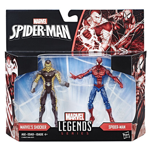 Marvel Legends Shocker & Spider-Man Action Figure 2-Pack