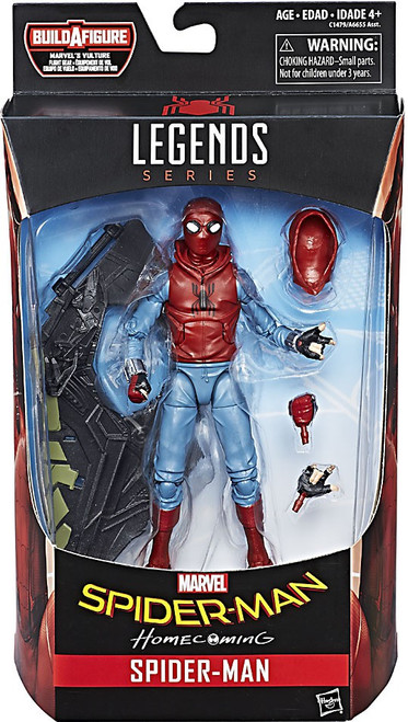 Marvel Legends Vulture Flight Gear Series Spider-Man Action Figure [Homecoming Homemade Suit]