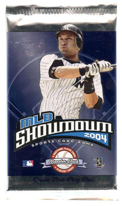 2004 MLB Showdown Booster Pack [11 Cards!]