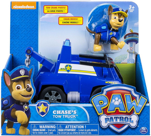 Paw Patrol Chase's Tow Truck Vehicle