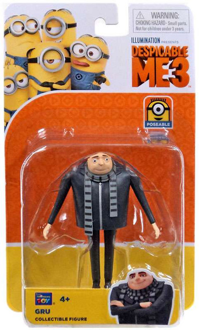 Despicable Me 3 Gru Action Figure