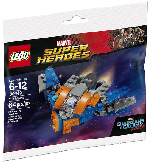 LEGO Marvel Super Heroes Guardians of the Galaxy Vol. 2 The Milano Set #30449