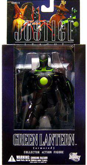 DC Alex Ross Justice League Series 6 Armored Green Lantern Action Figure [Damaged Package]