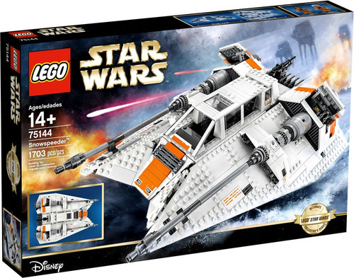 LEGO Star Wars Buildable Figure Snowspeeder Set #75144