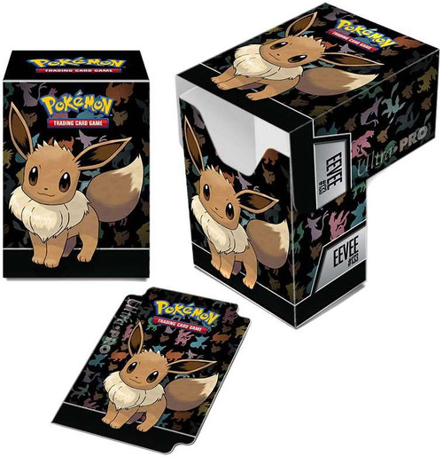 Ultra Pro Pokemon Trading Card Game Card Supplies Eevee Deck Box