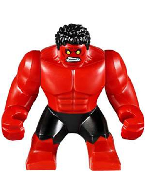 LEGO Marvel Super Heroes Red Hulk Minifigure [Loose]