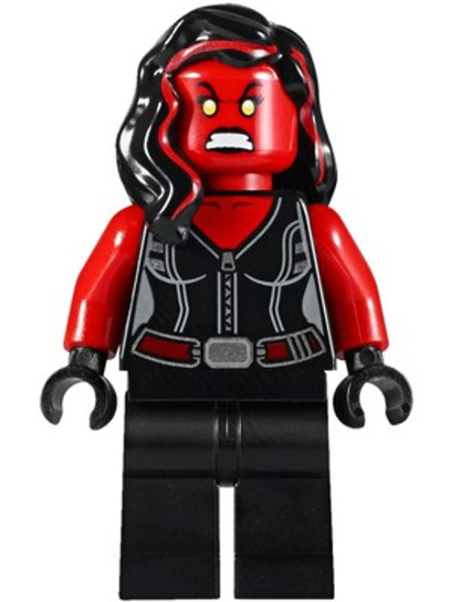 LEGO Marvel Super Heroes Red She-Hulk Minifigure [Loose]