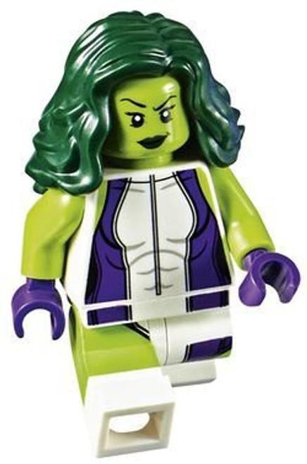 LEGO Marvel Super Heroes She-Hulk Minifigure [Loose]