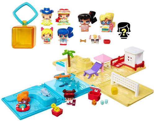 My Mini MixieQ's Beach Party Collection Playset [Frustration Free Packaging]