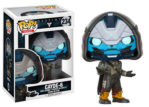 Funko Destiny POP! Games Cayde-6 Vinyl Figure #234
