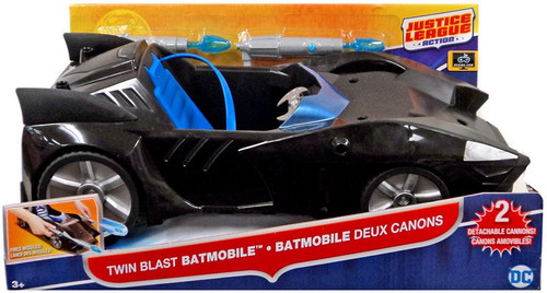 Justice League Action JLA Twin Blast Batmobile Vehicle