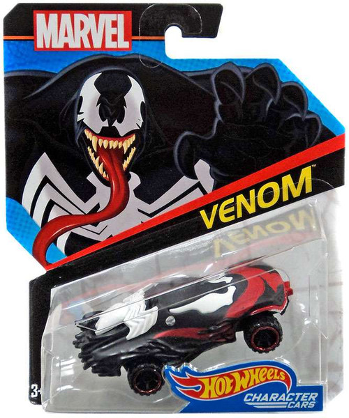 Hot Wheels Marvel Venom Die-Cast Car
