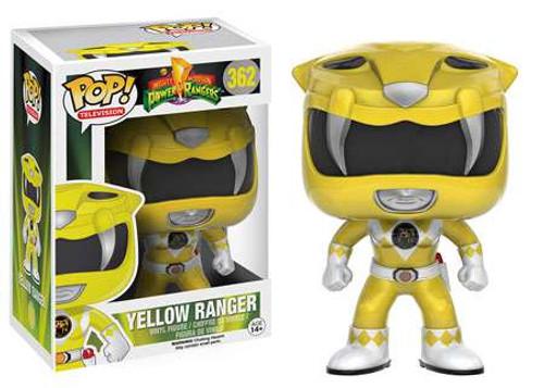 Funko Power Rangers POP! TV Yellow Ranger Vinyl Figure #362 [Damaged Package]