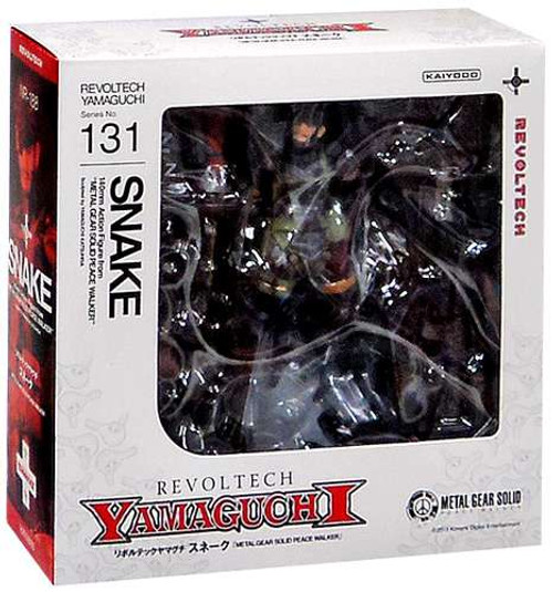 Metal Gear Solid Metal Gear Rising Revengeance Revoltech Snake Action Figure #131 [Naked, Damaged Package]