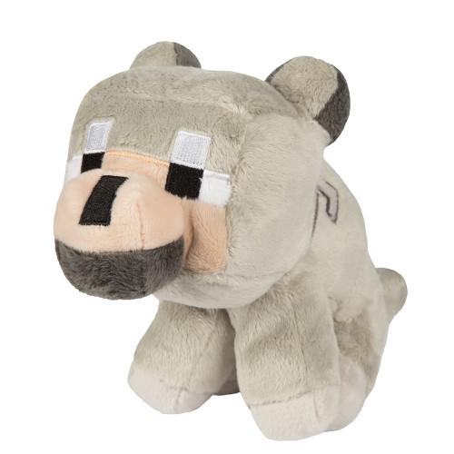 Minecraft Baby Wolf 8-Inch Plush