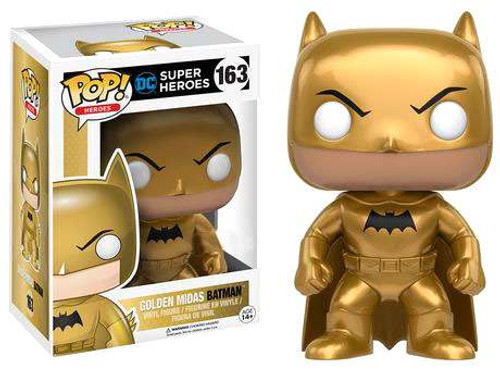 Funko DC POP! Heroes Golden Midas Batman Vinyl Figure #163 [Damaged Package]