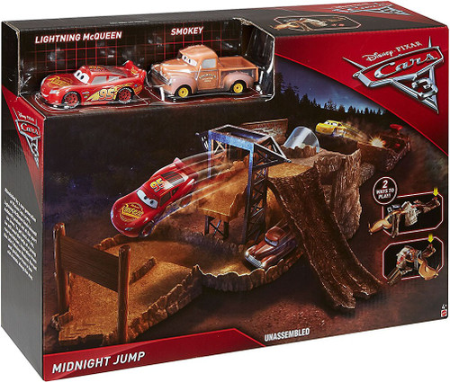Disney / Pixar Cars Cars 3 Midnight Jump Playset [Lightning McQueen & Smokey]