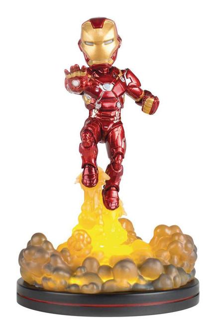 Marvel Civil War Q-Fig Iron Man Statue