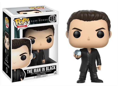 Funko The Dark Tower POP! Movies The Man in Black Vinyl Figure #451